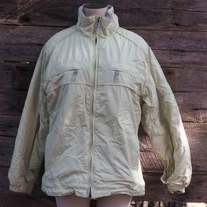 Mobius Womens Yellow Insulated Parka Size M